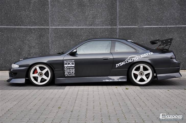Nissan Silvia S14 drift stickers